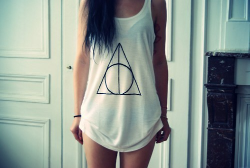 The Deathly Hallows sign t-shirt
