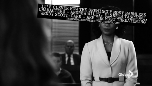 The Good Wife Confessions!
