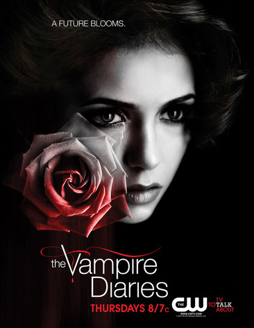 The Vampire Diaries First Look: May Sweeps Artwork Teases Elena's Future - damon-and-elena photo