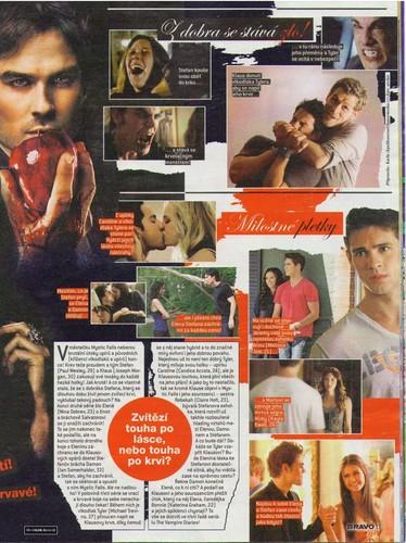 The Vampire Diaries - Magazine Scans - Bravo CZ