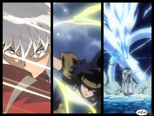 Inuyasha.:The Final Act:. 바탕화면 probably with 아니메 titled The boys
