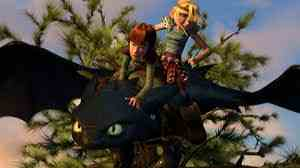 How to Train Your Dragon wallpaper probably with an alpinist called Toothless