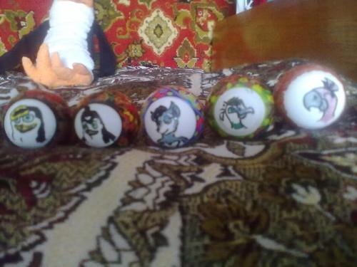 Tressa on Easter Egg!