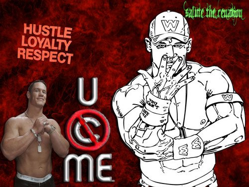 U CAN'T C ME - john-cena Wallpaper