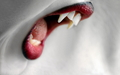 Vampire teeth  - vampires wallpaper