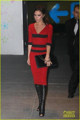 Victoria Beckham: Beijing with Baby Harper!