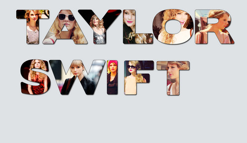 Taylor veloce, swift name collage