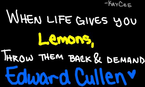 When life gives আপনি lemons...