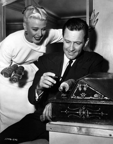 William Holden and Ginger Rogers