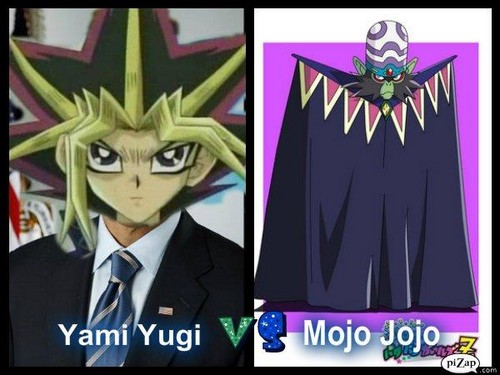 Yami Yugi Vs Mojo Jojo - powerpuff-girls-z Photo