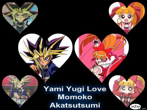 Yami yugi tình yêu Momoko Akatsutsumi