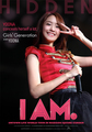 "Yoona ""I Am"" English poster"