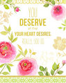 You Deserve All That Your Heart Desires - the-secret fan art