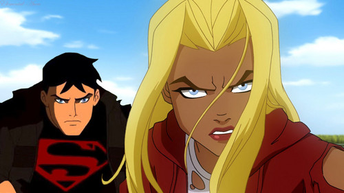 Young Justice wallpaper titled te Ready Little Cuz
