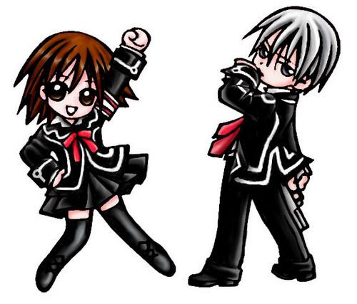Yuki and Zero Чиби