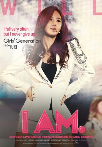 """Yuri """"I Am"""" English poster"""
