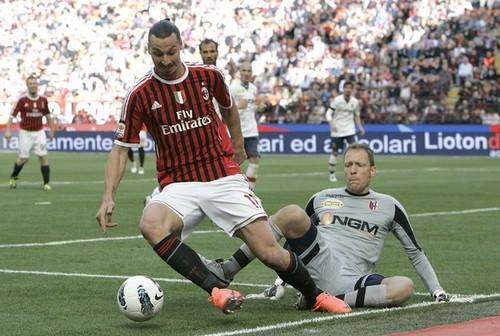 Z. Ibrahimovic (AC Milan - Bologna)