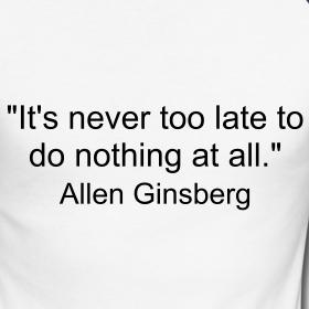 allen ginsberg quote