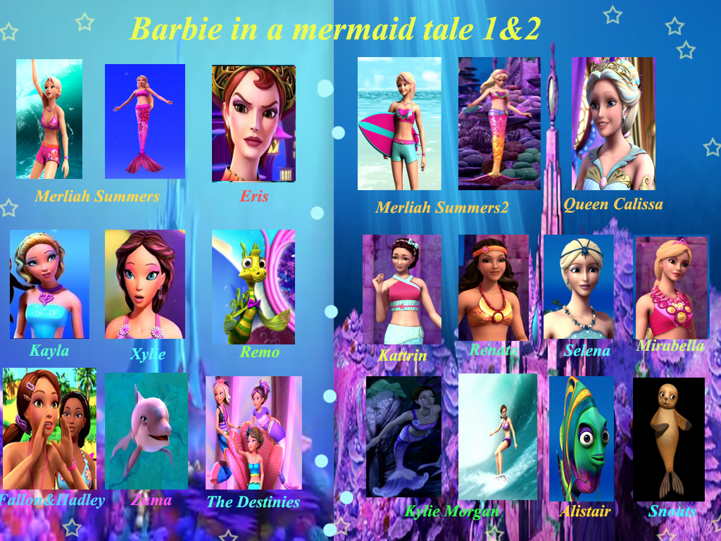Barbie MT1 and 2