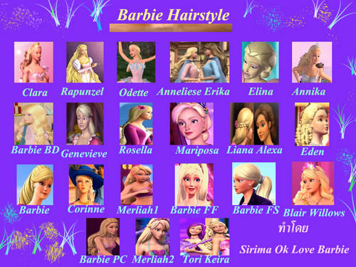 Barbie hairstyle
