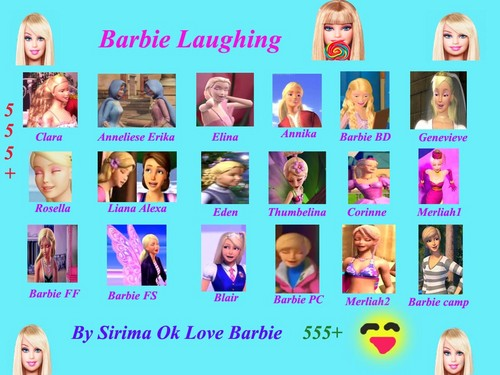 barbie laughing 555+
