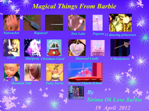 búp bê barbie magical things