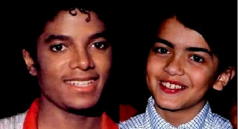 blanket and michael - blanket-jackson Photo