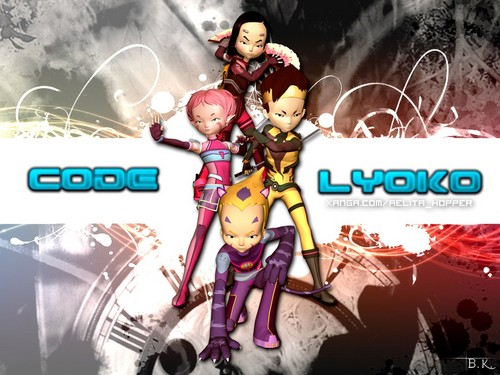 Code Lyoko fondo de pantalla probably containing a fuente and anime called code lyoko fondo de pantalla