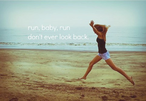 don't ever look back ♥