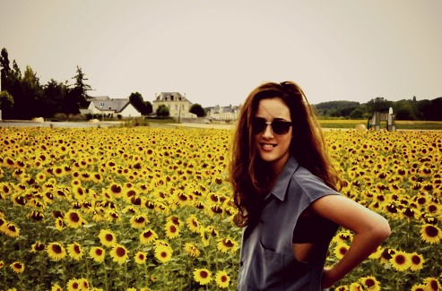Beautiful Pictures achtergrond with sunglasses titled enjoy your life ♥
