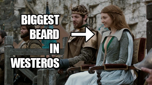 Biggest beard in Westeros