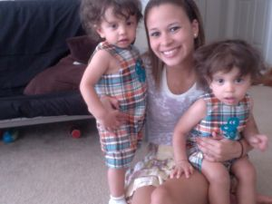 her and her baby boys<3