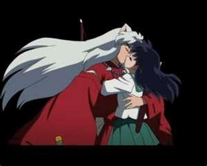 inuyasha y kagome fondo de pantalla probably containing anime called inu