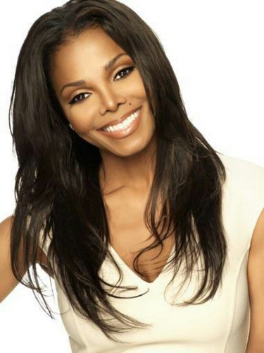 Janet Jackson wallpaper with a portrait, attractiveness, and skin titled janet jackson behind the scenes of nutrisystem