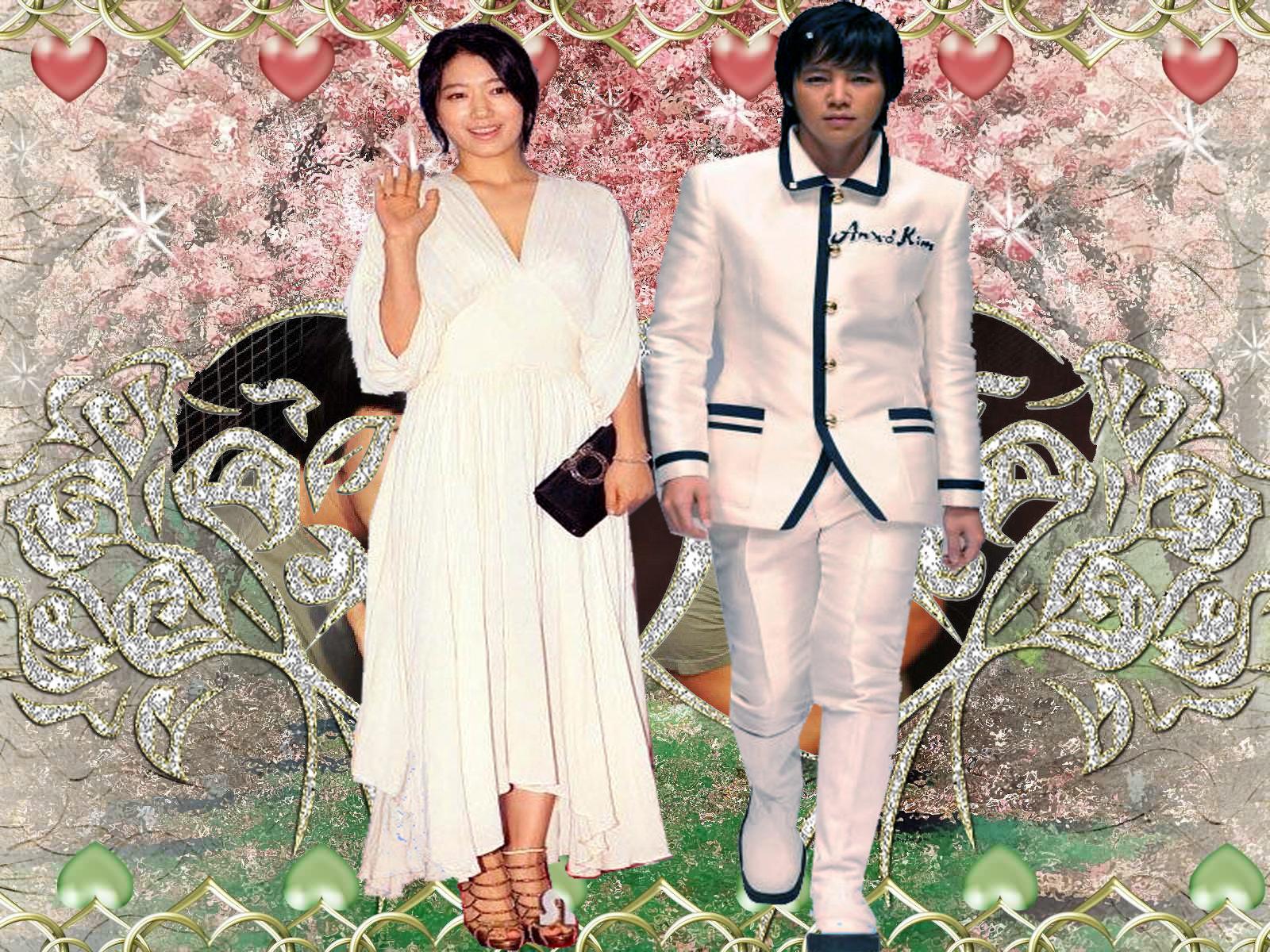Jang Geun Suk Park Shin Hye A N Jell Wallpaper 30547186