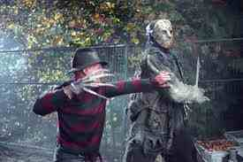 Horror Movies wallpaper with a rifleman called jason vs Freddy