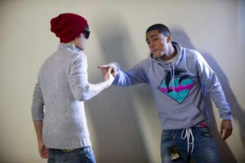 justin bieber, quincy brown new photoshoot, 2012