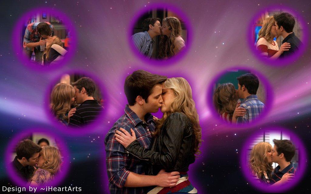 kisses - sam and freddie love Wallpaper (30516424) - Fanpop
