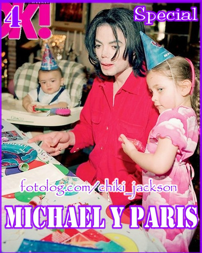 michael with blanket and paris