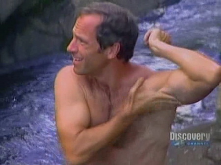 Dirty Jobs wallpaper possibly with a hot tub, a hunk, and skin called mike rowe