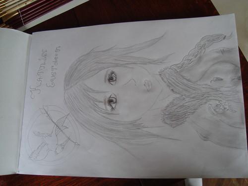 my Katniss draw!
