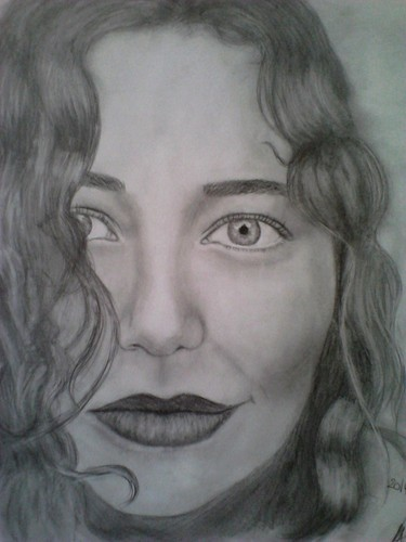 my Tori Amos drawing