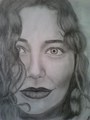 my Tori Amos drawing - drawing photo
