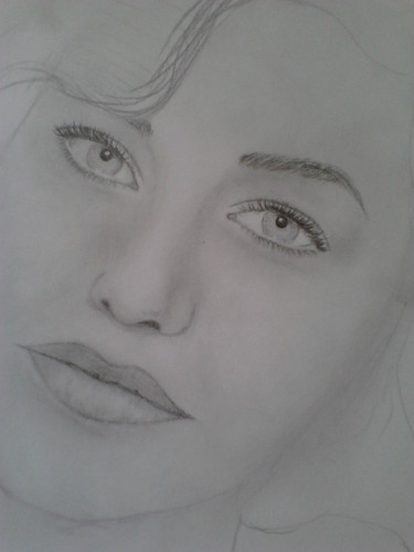 my face drawing