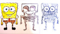 spongebob anatomy