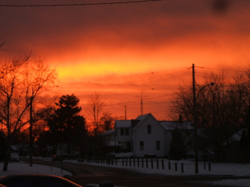 sunset in wallaceburg