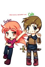 the hunger games- chibi