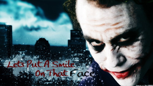 The Joker kertas dinding probably with Anime titled the joker