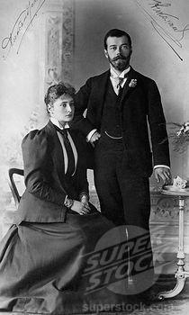 tsarina alexandra and nicholas ii of russia