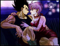 vegeta and bulma - bulma-and-vegeta-s-love fan art